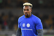 Wolverhampton Wanderers forward Adama Traore (37) wearing Together With Leicester t-shirt during the Premier League match between Wolverhampton Wanderers and Tottenham Hotspur at Molineux, Wolverhampton, England on 3 November 2018.