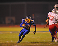 Oxford High's Courtland Barnes (21) vs. Jackson Provine in MHSAA football playoff action in Oxford, Miss. on Friday, November 9, 2012.