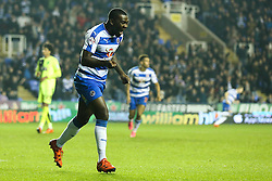 Goal, Ola John of Reading scores the equaliser, Reading 2-2 Huddersfield Town - Mandatory byline: Jason Brown/JMP - 07966 386802 - 03/11/2015- FOOTBALL - Madejski Stadium - Reading, England - Reading v Huddersfield Town - Sky Bet Championship