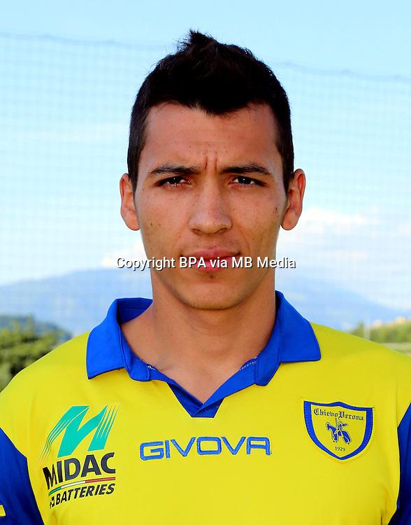 Italian League Serie A -2014-2015 / <br /> ( AC Chievo Verona  ) - <br /> Ruben Alejandro Botta Montero &quot; Ruben Botta &quot;