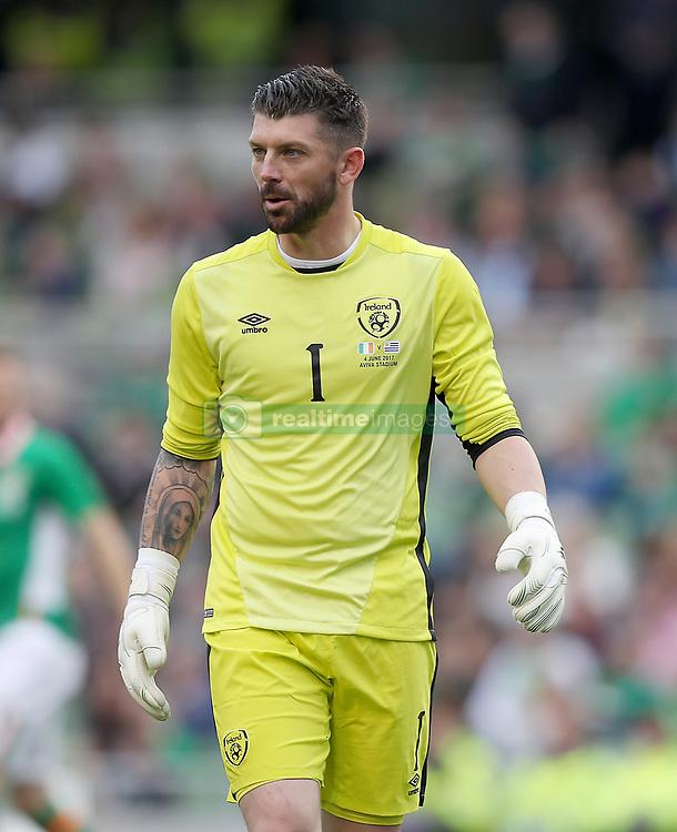 Republic of Ireland's Goalkeeper Kieren Westwood