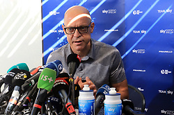 Team Sky's Dave Brailsford during a press conference. Picture date: Monday July 23, 2018. See PA story CYCLING Tour. Photo credit should read: Ian Parker/PA Wire