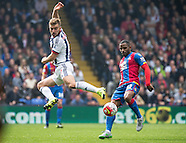 Crystal Palace v West Bromwich Albion 03/10/2015