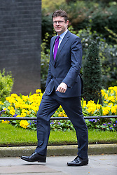 © Licensed to London News Pictures . 29/03/2017 . London , UK . GREG CLARK arrives . Ministers arriving and leaving for a Cabinet meeting and Prime Minster's Questions , at 10 Downing Street , Westminster . Today (29th March 2017) the British Government will trigger Article 50 of the Lisbon Treaty and commence Britain's withdrawal from the European Union . Photo credit : Joel Goodman/LNP