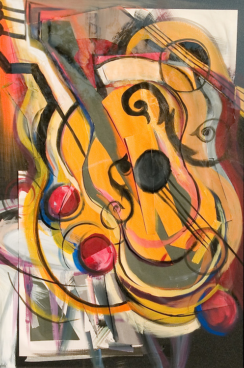Original Works of Art by Marcus Cerda..PHOTO COPYRIGHT 2006 LANCE CHEUNG