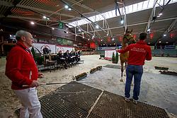 113, Kiek Hum<br /> Hengstenkeuring BWP - Lier 2018<br /> © Hippo Foto - Dirk Caremans<br /> 18/01/2018