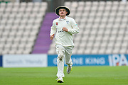 George Rhodes of Worcestershire during the Specsavers County Champ Div 1 match between Hampshire County Cricket Club and Worcestershire County Cricket Club at the Ageas Bowl, Southampton, United Kingdom on 13 April 2018. Picture by Graham Hunt.