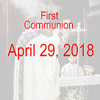 St Catherine 1st Communion 04-29-18