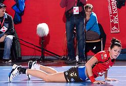Szandra Zacsik of Krim at handball match of Round 3 of Champions League between RK Krim Mercator and Hypo Niederosterreich, on November 8, 2009, in Arena Kodeljevo, Ljubljana, Slovenia.  Krim won 35:24. (Photo by Vid Ponikvar / Sportida)