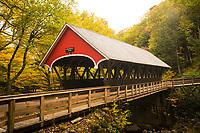 Flume Covered Bridge, Franconia Notch State Park, New Hampshire