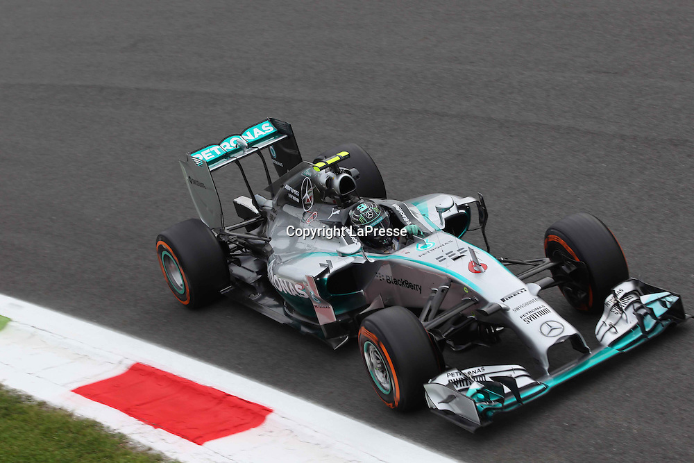 &copy; Photo4 / LaPresse<br /> 05/09/2014 Monza, Italy<br /> Sport <br /> Grand Prix Formula One Italy 2014<br /> In the pic: Nico Rosberg (GER), Mercedes AMG F1 W05