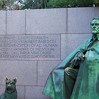 The FDR Memorial offers an intriguing look at FDR's time in office and is the only Presidential memorial to include a First Lady. An amazing walk through history.