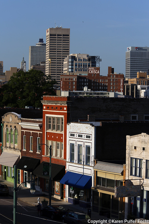 South Main Section of Memphis
