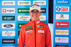 Anita Klemencic of Cross Country Skiing team at media day of Ski Association of Slovenia before new winter season 2018/19, on October 4, 2018 in Ski resort Pohorje, Maribor, Slovenia. Photo by Grega Valancic / Sportida