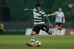 April 22, 2018 - Lisbon, Lisboa, Portugal - Sporting CP Midfielder Marcos Acuna from Argentina during the Premier League 2017/18 match between Sporting CP and Boavista FC, at Alvalade Stadium in Lisbon on April 22, 2018. (Credit Image: © Dpi/NurPhoto via ZUMA Press)
