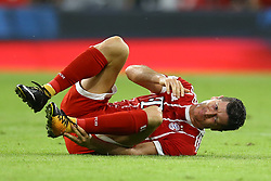 August 1, 2017 - Munich, Germany - Robert Lewandowski of Bayern during the second Audi Cup football match between FC Bayern Munich and FC Liverpool in the stadium in Munich, southern Germany, on August 1, 2017. (Credit Image: © Matteo Ciambelli/NurPhoto via ZUMA Press)