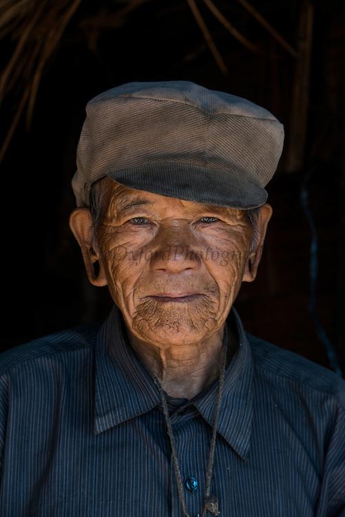 Nyshi man<br /> Nyshi Tribe<br /> Arunachal Pradesh<br /> North East India