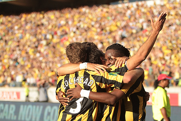 Supported by a record crowd of 34,500 fans and unbeaten on home soil for 18 matches, the Wellington Phoenix battle Newcastle Jets at Westpac Stadium for a place in the final game of the 2009-2010 Hyundai A-League championship