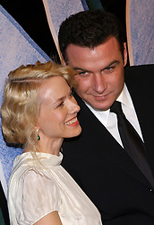 Australian actress and cast member Naomi Watts and her boyfriend American actor Liev Schreiber (in their very first public appearance) pose together as they arrive at the 'King Kong' World Premiere held at the Loews E-Walk and AMC Empire theatre, off Times Square, in New York, on Monday December 5, 2005. Photo by Nicolas Khayat/ABACAPRESS.COM  | 88252_03 New York City Unitd
