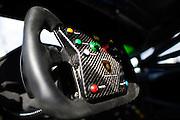 June 30- July 3, 2016: Round 3/4 - Watkins Glen, Lamborghini Huracan steering wheel