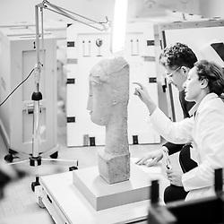 Modigliani scultore: allestimento al MART