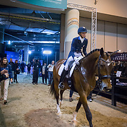 Laura Graves (USA) and Verdades at the FEI World Cup Dressage Finals in Omaha, Nebraska.