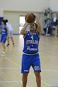 DESCRIZIONE : Roma Acqua Acetosa amichevole Nazionale Italia Donne<br /> GIOCATORE : Marie Raelin D'Alie<br /> CATEGORIA : tiro<br /> SQUADRA : Nazionale Italia femminile donne FIP<br /> EVENTO : amichevole Italia<br /> GARA : Italia Lazio Basket<br /> DATA : 27/03/2012<br /> SPORT : Pallacanestro<br /> AUTORE : Agenzia Ciamillo-Castoria/GiulioCiamillo<br /> Galleria : Fip Nazionali 2012<br /> Fotonotizia : Roma Acqua Acetosa amichevole Nazionale Italia Donne