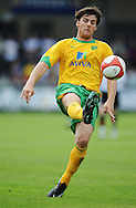Dartford - Saturday July 11 2009: Chris Martin of Norwich City during the friendly match at Princes Park. (Pic by Alex Broadway/Focus Images)...