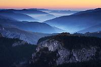 Bicaz Gorges, Cheile Bicazului-Hasmas National Park, Carpathian, Transsylvania, Romania,