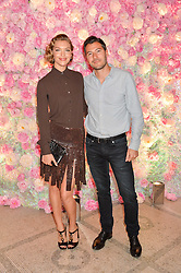 ARIZONA MUSE and BONIFACE VERNEY-CARRON at the V&A Summer Party in association with Harrod's held at The V&A Museum, London on 22nd June 2016.