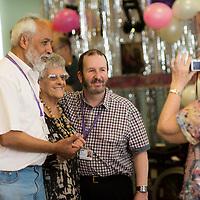 Images from Millie's 100th Birthday at Jewish Care Stepney Community Centre. <br /> (C) Blake Ezra Photography 2017 www.blakeezraphotography.com