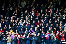 Bristol City fans in the away end - Rogan/JMP - 23/12/2017 - Loftus Road - London, England - Queens Park Rangers v Bristol City - Sky Bet Championship.