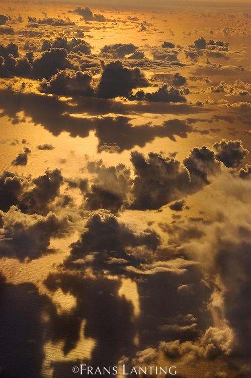 Clouds at sunset, Pacific Ocean