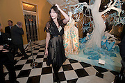 DAISY LOWE, Unveiling of the Dior Christmas Tree by John Galliano at Claridge's. London. 1 December 2009