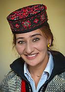 Tajik woman, Xinjiang Uyghur autonomous region, China.