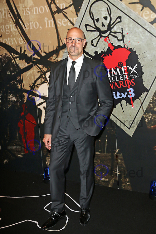 Stanley Tucci, Specsavers Crime Thriller Awards, Grosvenor House Hotel, London UK, 24 October 2014, Photo by Richard Goldschmidt