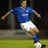 St Johnstone...2003-04<br />Paul Bernard<br /><br /><br />Picture by Graeme Hart.<br />Copyright Perthshire Picture Agency<br />Tel: 01738 623350  Mobile: 07990 594431