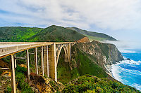 Bixby Bridge, Monterey County, California USA