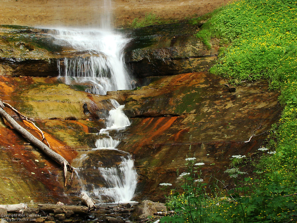 Munising Falls, Pictured Rocks, Michigan's Upper Peninsula