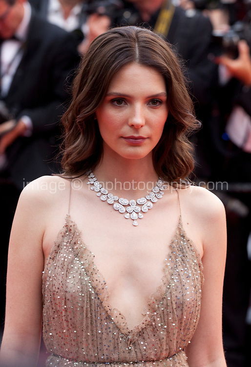 Josephine Japy at the La Belle Epoque gala screening at the 72nd Cannes Film Festival Monday 20th May 2019, Cannes, France. Photo credit: Doreen Kennedy
