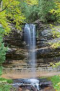 64797-00613 Munising Falls in fall, Alger County, MI