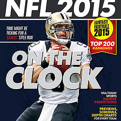 USA Today - NFL 2015 Preview - Cover - Drew Brees - Saints