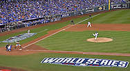Oct 22, 2014; Kansas City, MO, USA; Kansas City Royals starting pitcher Yordano Ventura throws a pitch against the San Francisco Giants during game two of the 2014 World Series at Kauffman Stadium. Mandatory Credit: Peter G. Aiken-USA TODAY Sports