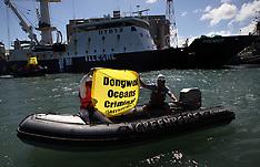 Mauritius Greenpeace Action