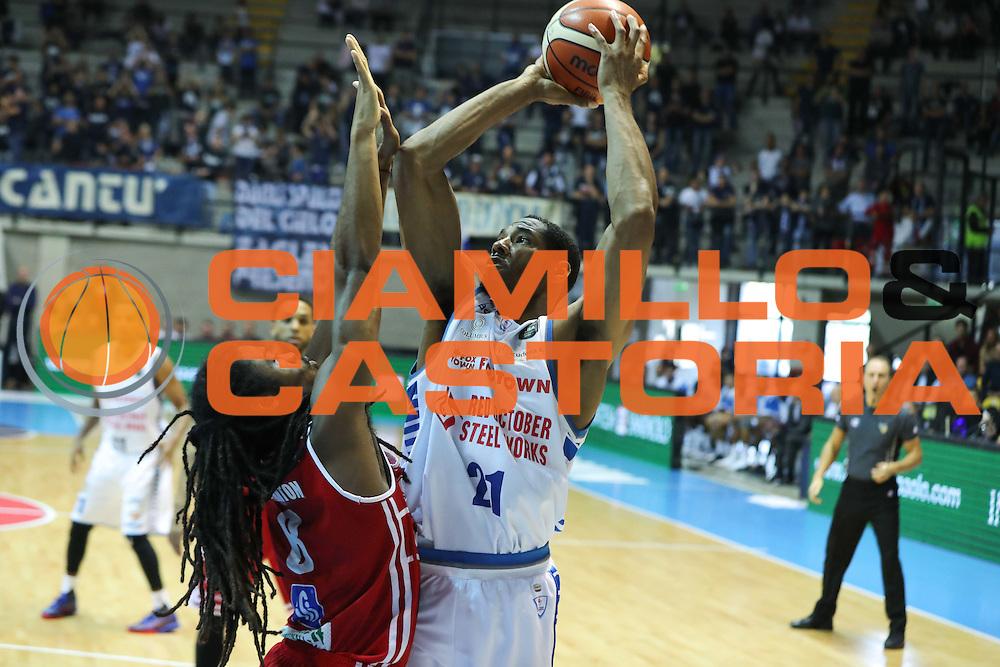 Red October Cantù VS Consultinvest Pesaro LBA serie A 3^ giornata stagione 2016/2017 Desio 16/10/2016<br /> <br /> Nella foto: Darden Tremmell