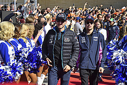 November 3, 2019, Austin, United States of America: Motorsports: FIA Formula One World Championship 2019, Grand Prix of United States, ..#88 Robert Kubica (POL, ROKiT Williams Racing), #18 Lance Stroll (CAN, Racing Point F1 Team) (Credit Image: © Hoch Zwei via ZUMA Wire)