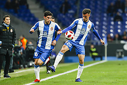 January 17, 2019 - Barcelona, Catalonia, Spain - Javi Puado (20) of RCD Espanyol during the match RCD Espanyol v Villarreal CF, for the round of 16 of the Copa del Rey played at Camp Nou  on 17th January 2019 in Barcelona, Spain. (Credit Image: © Mikel Trigueros/NurPhoto via ZUMA Press)