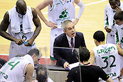 DESCRIZIONE : Milano Coppa Italia Final Eight 2014 Quarti Montepaschi Siena Acea Virtus Roma<br /> GIOCATORE : Marco Crespi<br /> CATEGORIA : coach allenatori schema time out <br /> SQUADRA : Montepaschi Siena<br /> EVENTO : Beko Coppa Italia Final Eight 2014 <br /> GARA : Montepaschi Siena Acea Virtus Roma<br /> DATA : 07/02/2014 <br /> SPORT : Pallacanestro <br /> AUTORE : Agenzia Ciamillo-Castoria/N.Dalla Mura<br /> GALLERIA : Lega Basket Final Eight Coppa Italia 2014 <br /> FOTONOTIZIA : Milano Coppa Italia Final Eight 2014 Quarti Montepaschi Siena Acea Virtus Roma