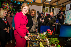 Pictured: Nicola Sturgeon, MSP<br /> <br /> Nicola Sturgeon, MSP, paid a visit today to Shakti Women's Aid in Edinburgh today to campaign against the Rape Clause. <br /> Ger Harley | EEm 25 April 2017