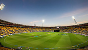 General view during the Fifth ODI of the 2019 ANZ International ODI Series. Blackcaps v India at Westpac Stadium, Wellington, Sunday 3rd February 2019. © Copyright Photo: Grant Down / www.photosport.nz